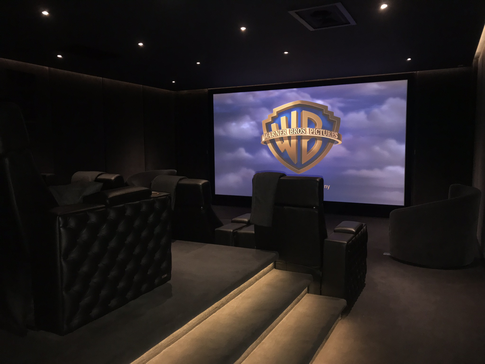 Example Of A Home Cinema Installed By AVITHA